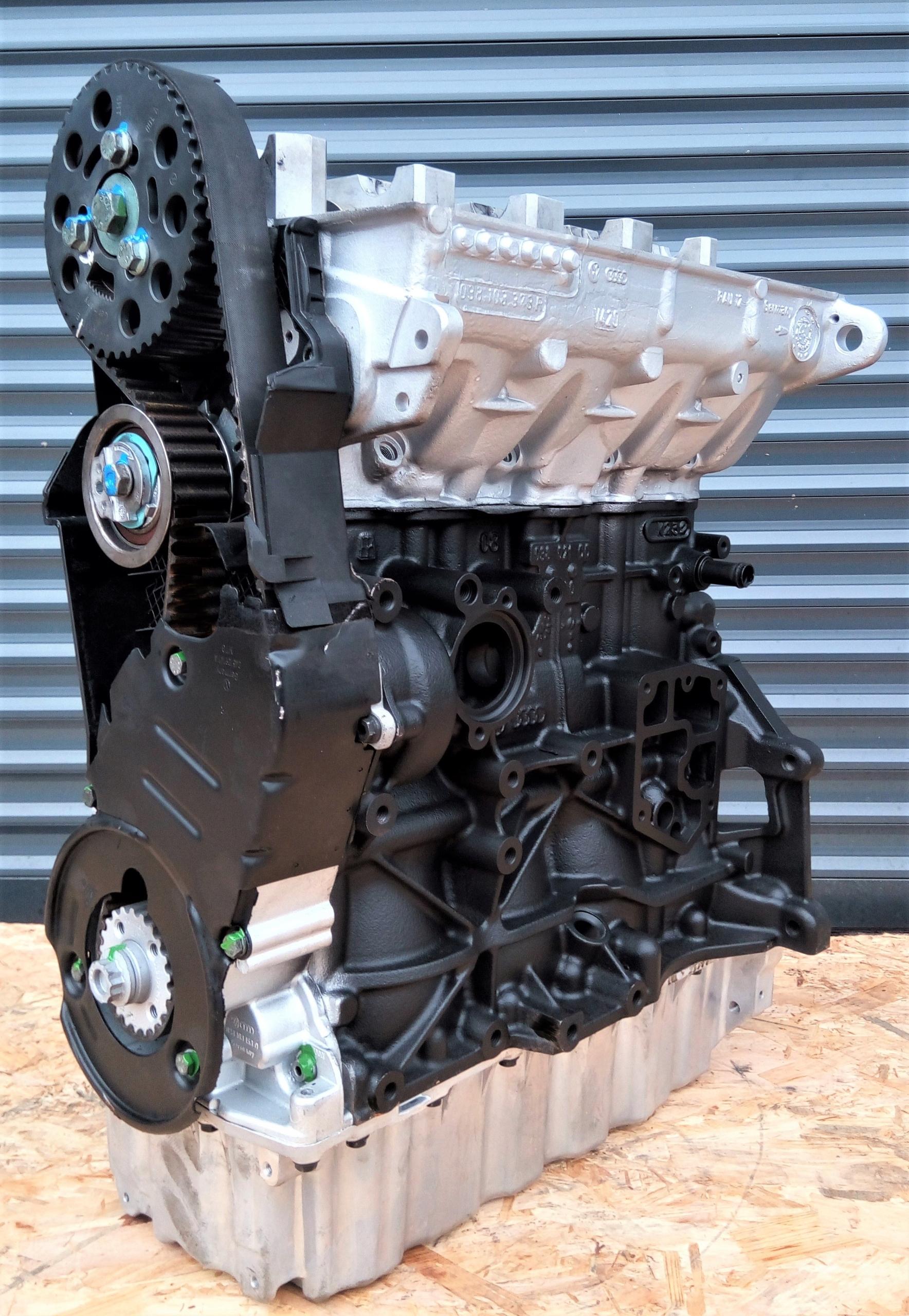 двигатель vw passat skoda 20 tdi bmp 1968ccm 140km