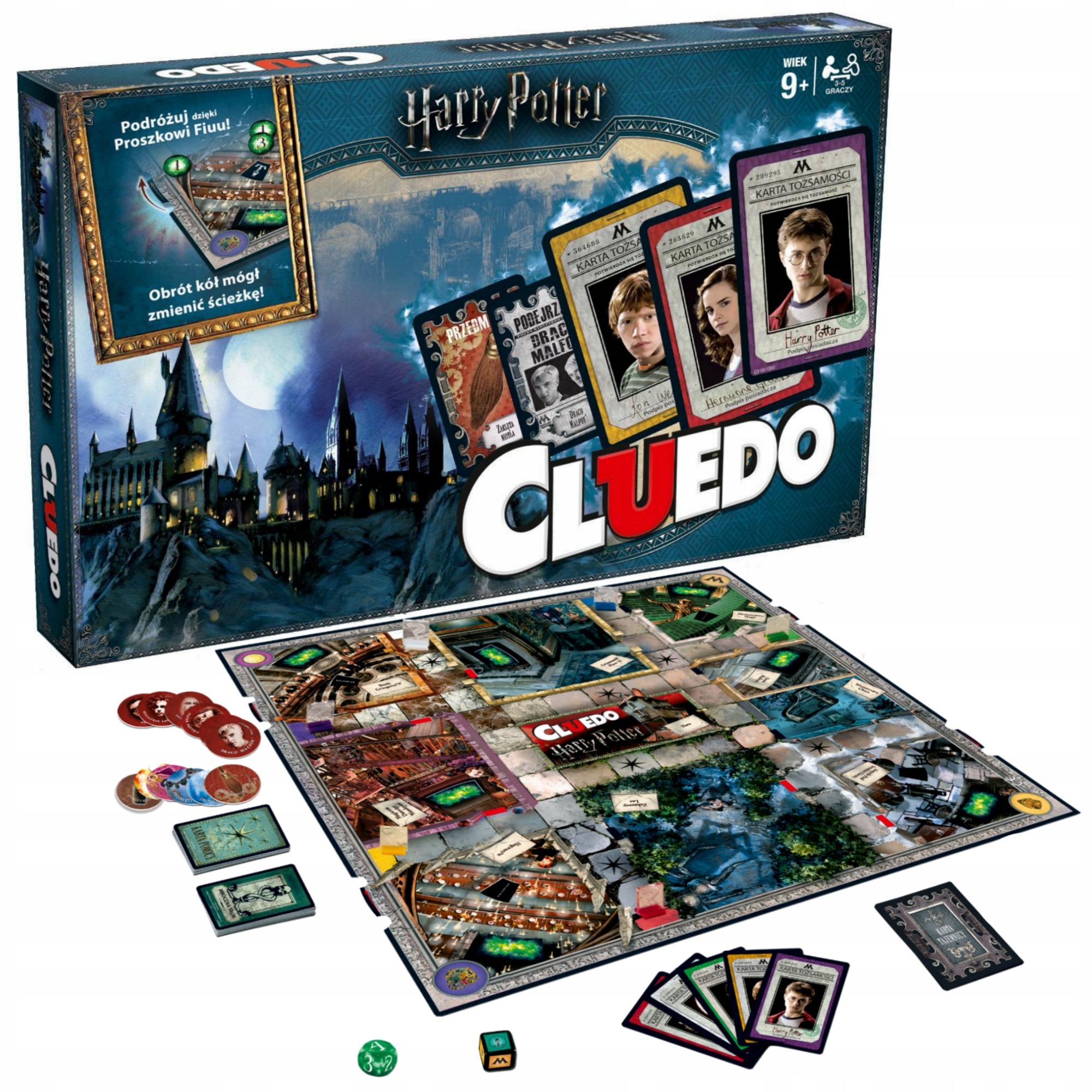Cluedo Harry Potter Gra Planszowa Detektywistyczna 124 99 Zl 9115536031 Allegro Pl