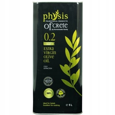 Оливковое масло первого отжима первого отжима Physis of Crete 5л