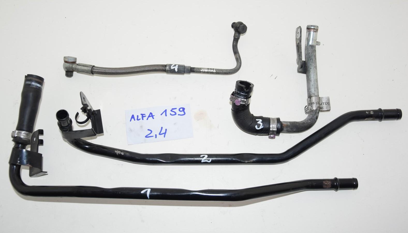 альфа romeo 159 24d провода трубки масляные