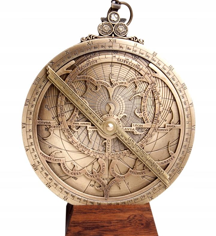 Большая астролябия Хартмана; диаметр: 15 см