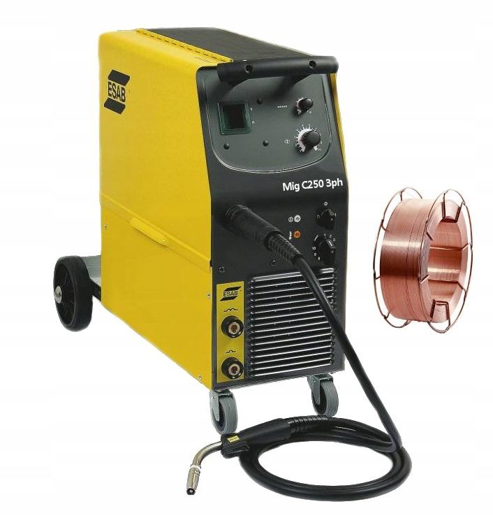 Zvárací stroj Migomat Semi-Automatomat ESAB C250 + GRAPISY