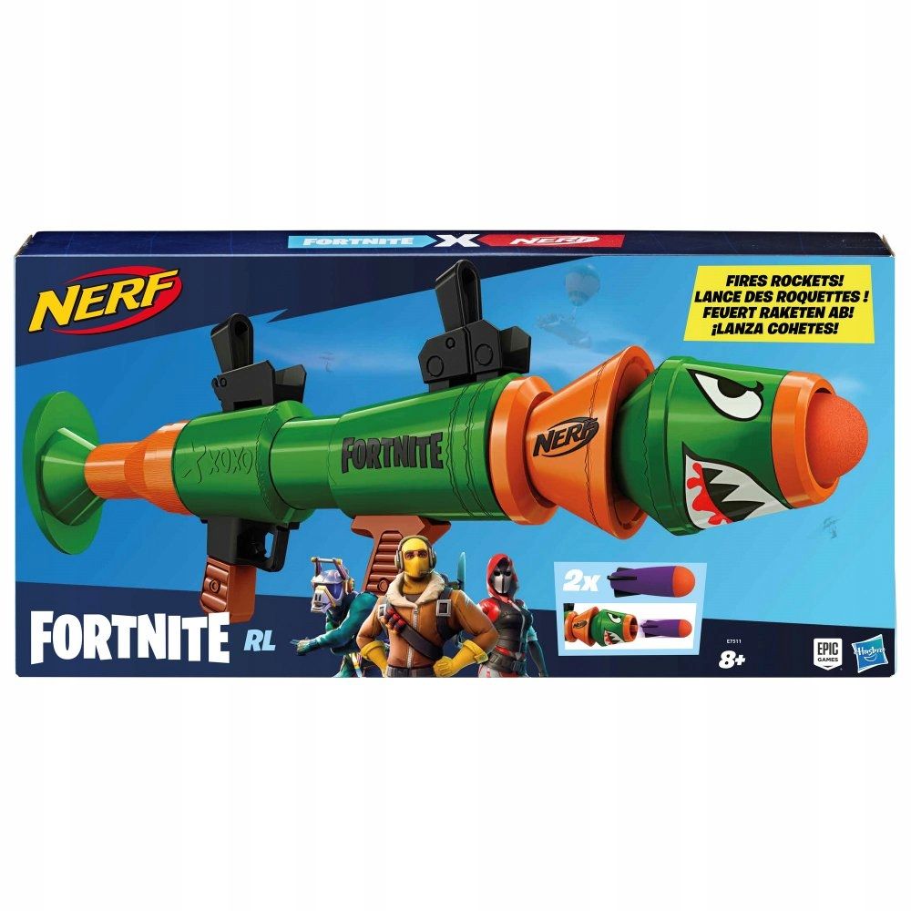 Odpaľovač NERF Fortnite RL Rusty Rocket E7511