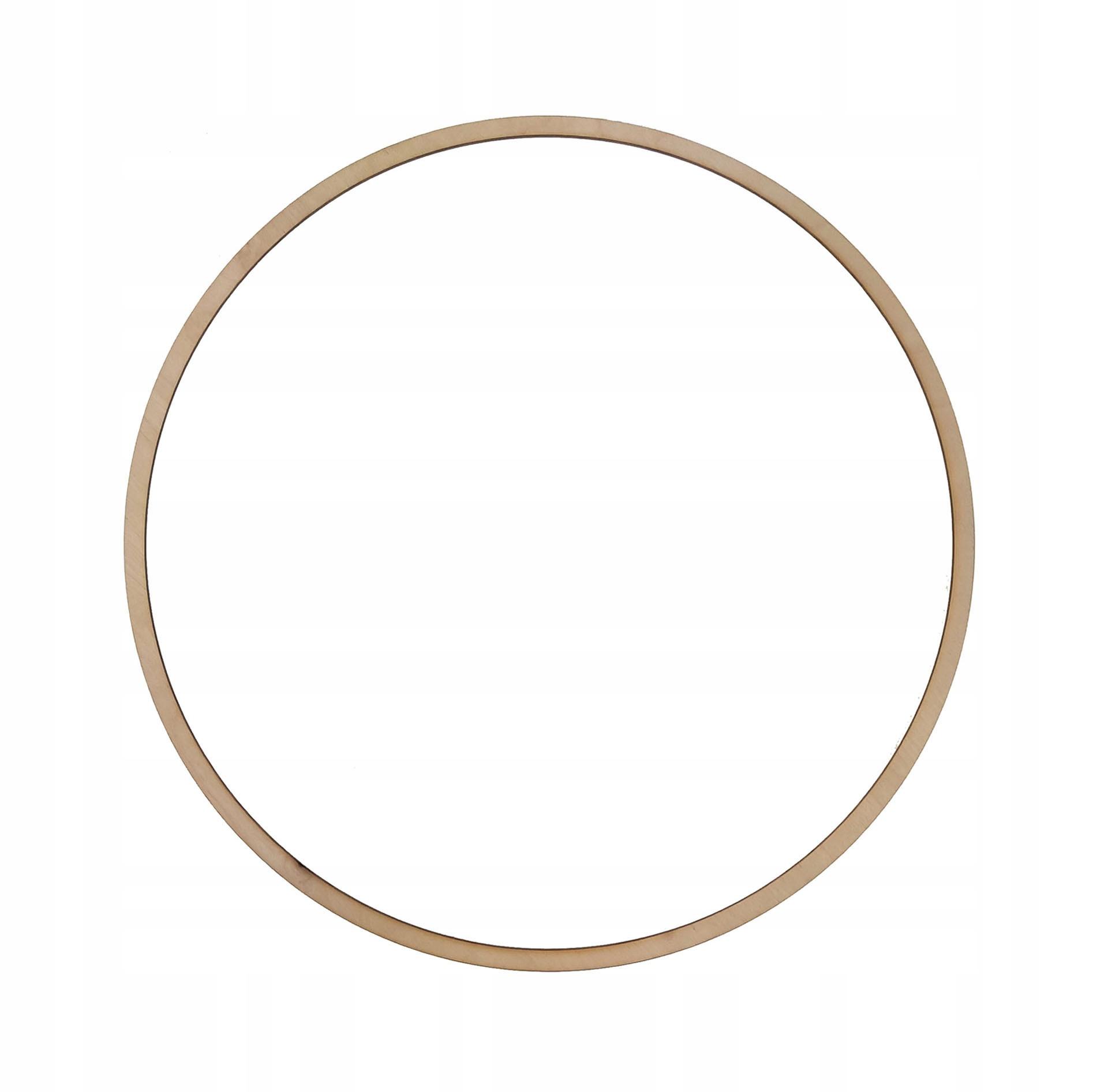 Drewniana obręcz kółko do łapacza snów - 36 cm