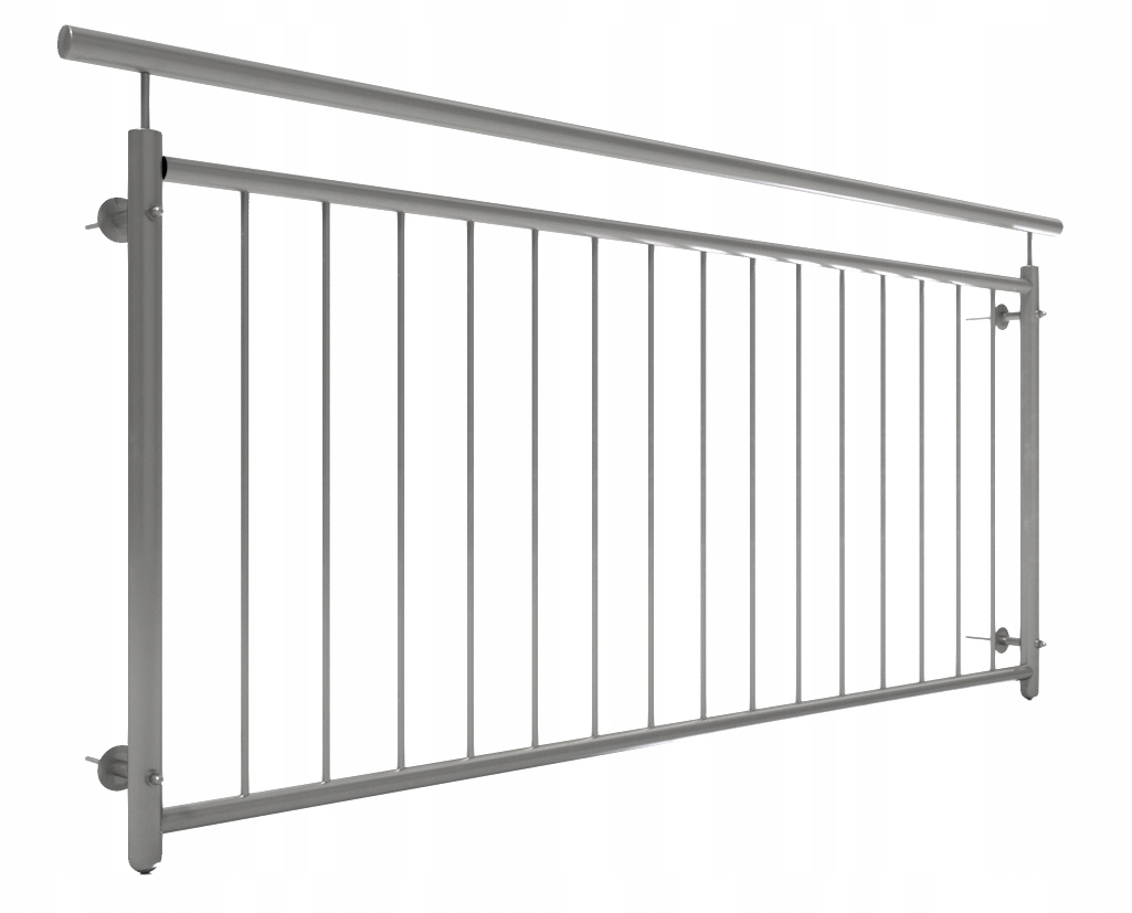 Французский балкон FR2-1000 нержавеющая сталь