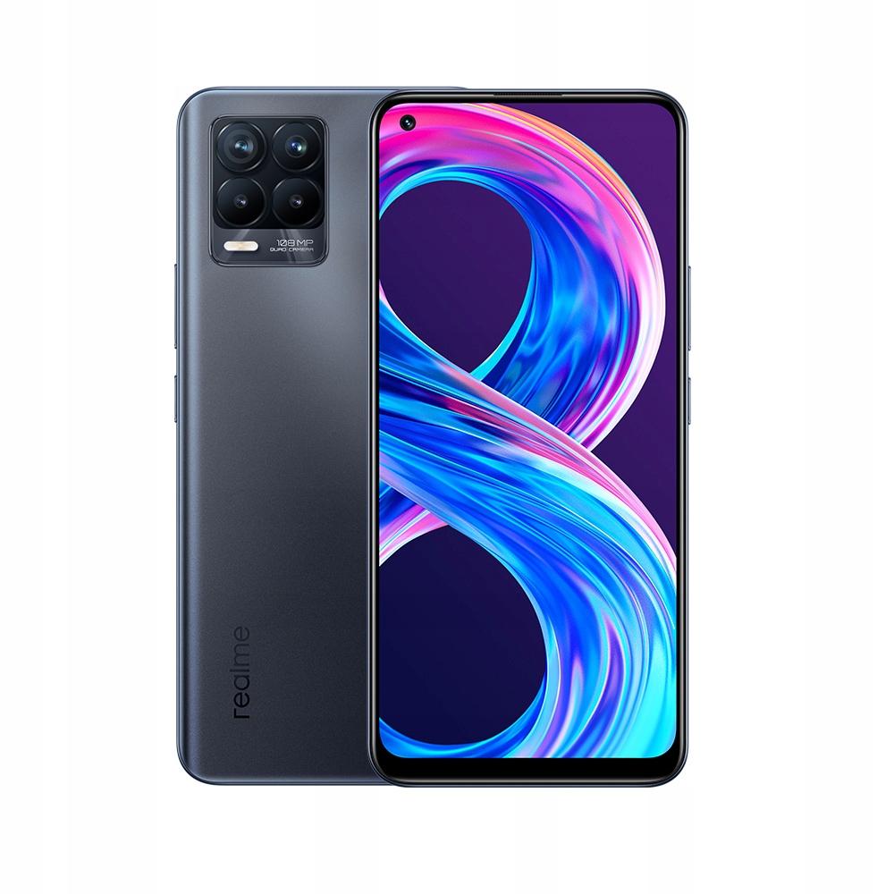 Smartfon realme 8 Pro 6GB 128GB Czarny