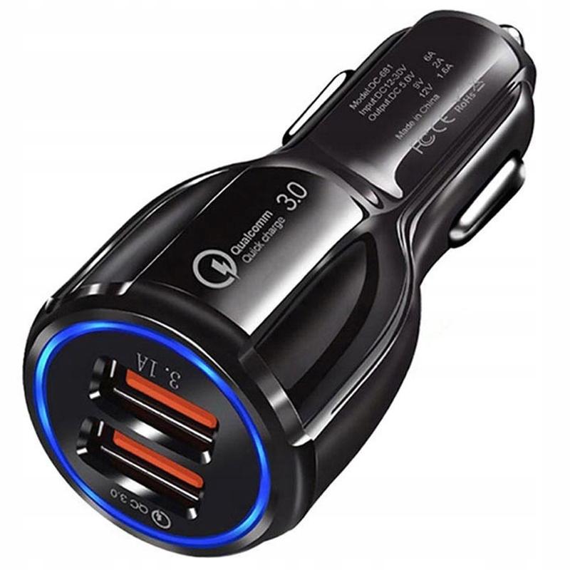 Ładowarka Samochodowa Szybka Quick Charge 3.0 Qc