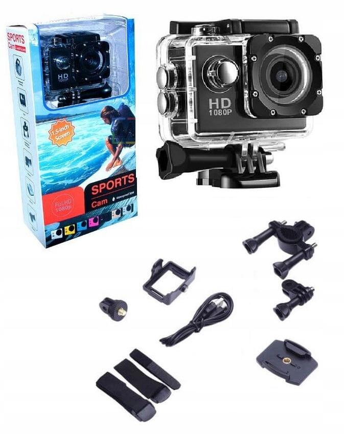GOPRO HD Športová kamera Vodotesná sada