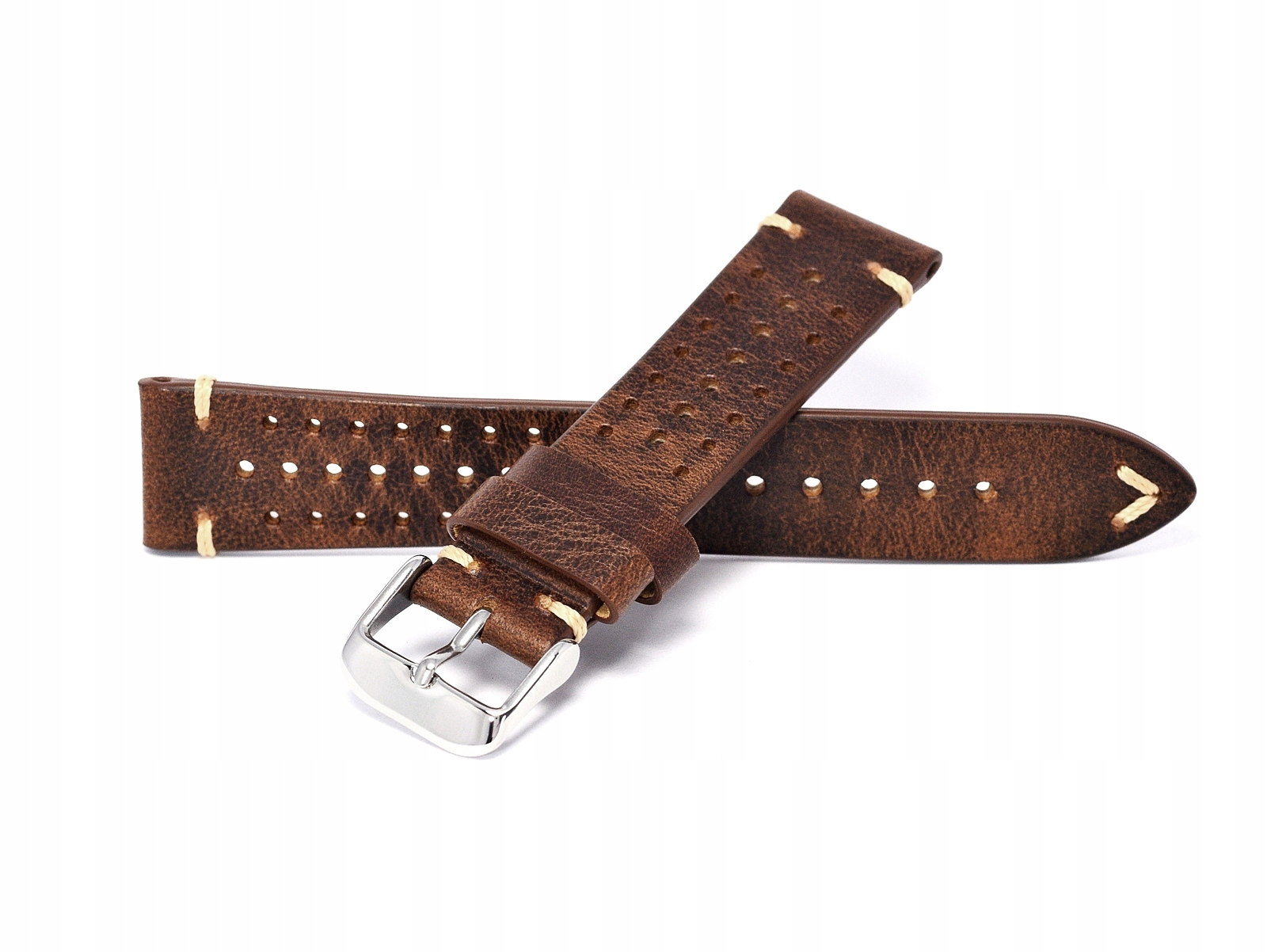 Item Watch strap 20 MM vintage RALLY with holes-COLOR