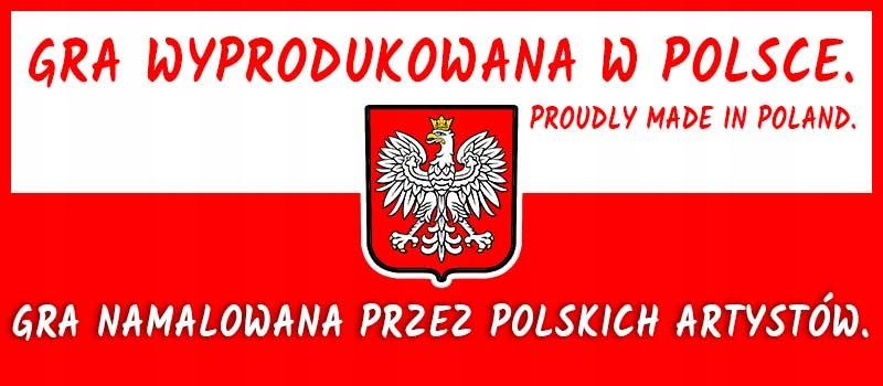 eko gra planszowa dla dzieci POLSKIE ZWIERZĘTA Maksymalna liczba graczy 6