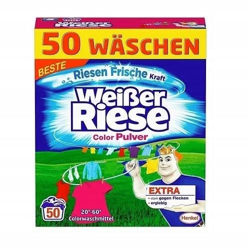 WEISER RIESE COLOR PROSZEK 2,75 KG 50 PRAń