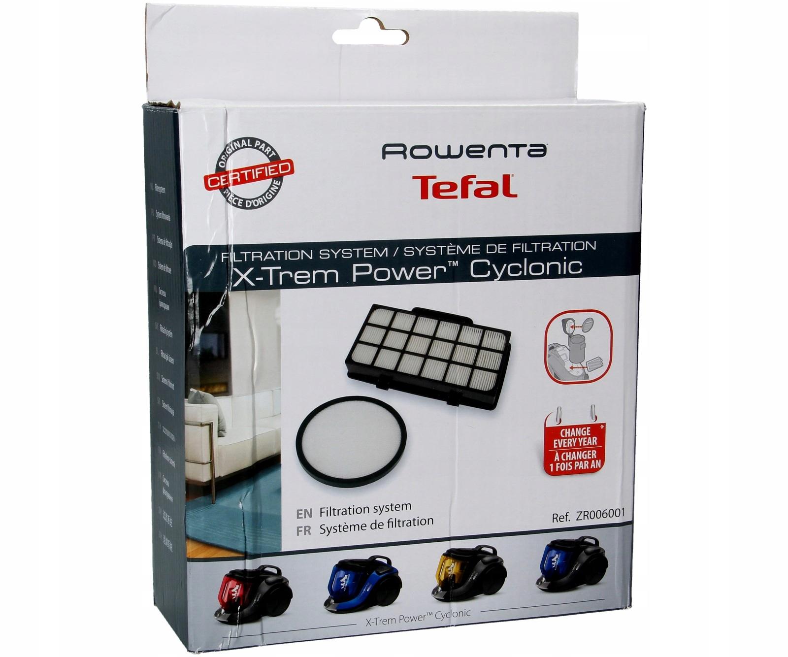 Sada filtrov pre vysávače Tefal Xtrem Power