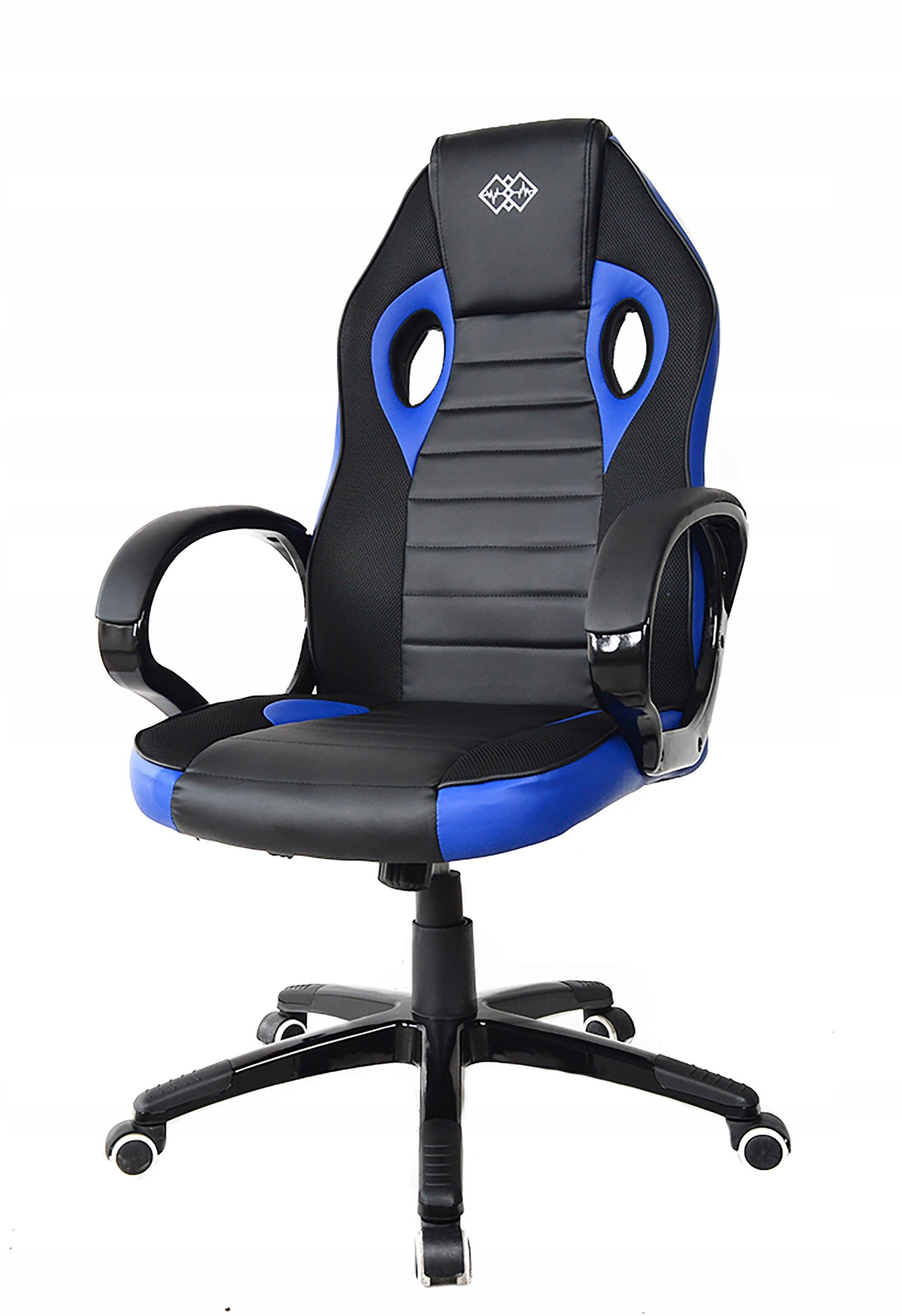 Поворотное игровое кресло премиум-класса для игрока. Максимальная нагрузка 120 кг.