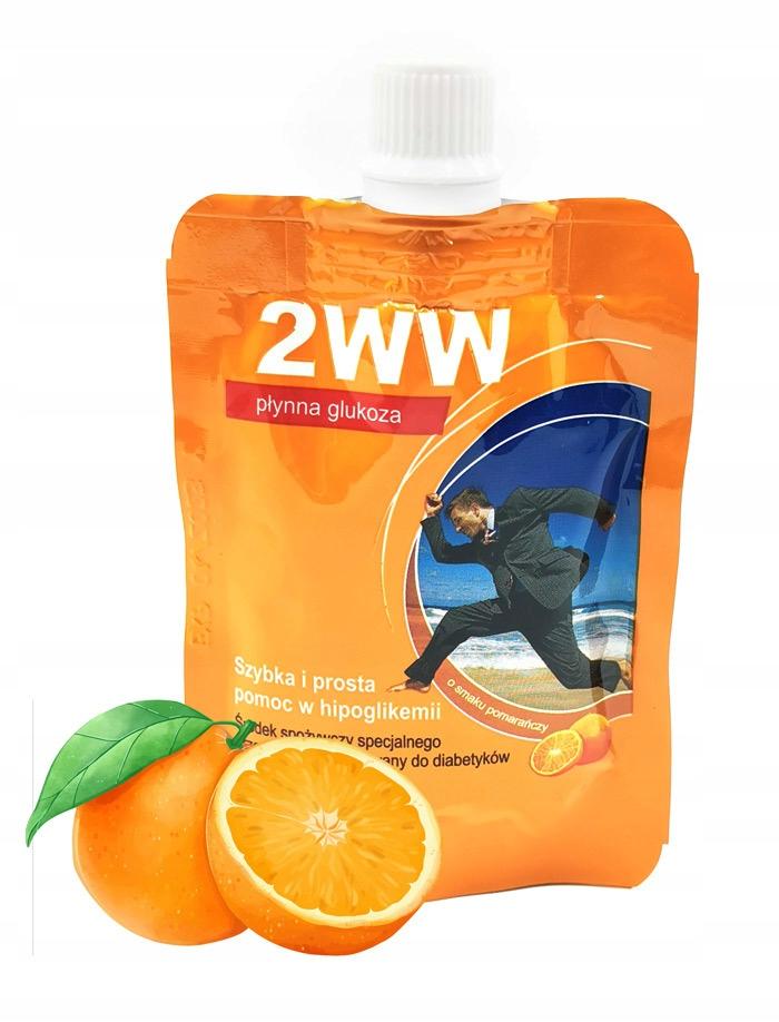Płynna glukoza 2WW o smaku pomarańczowym