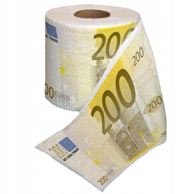 Туалетная бумага 200 Евро XL ПОДАРОК на день рождения 18