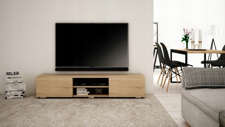 RTV Modern STANDING TV CABINET 180 Mat