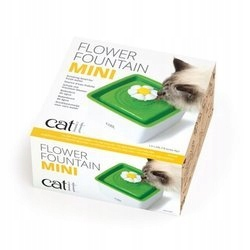 Catit Flower MINI фонтан с кошкой