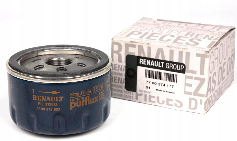 renault oe 7700274177 фильтр масла renault dacia