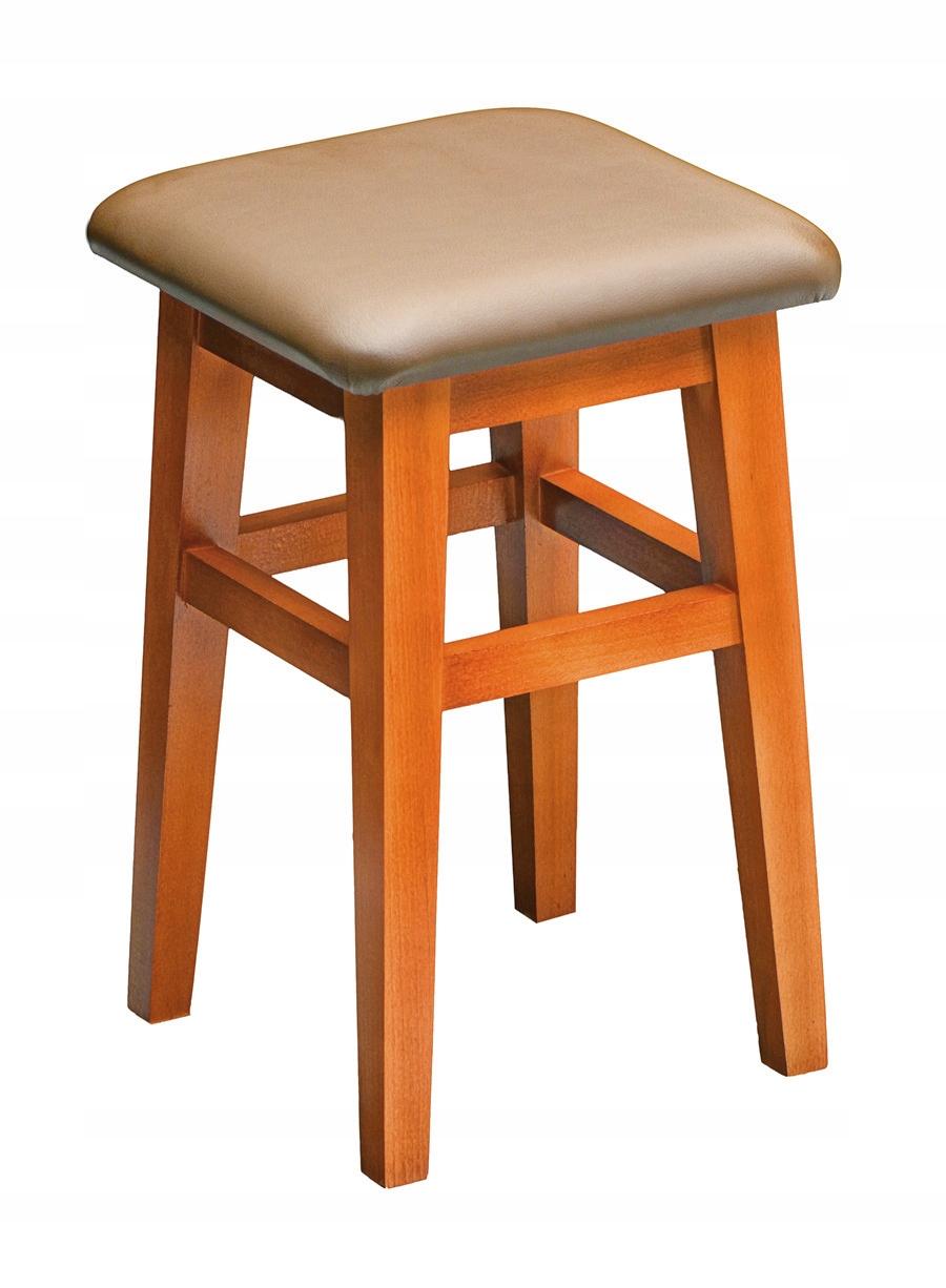 Taboret stołek do kuchni 45 cm kolory drewno