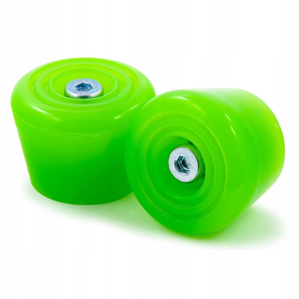 Brzdové stopky na kolieskových korčuliach RIO ROLLER Zelená 2ks.