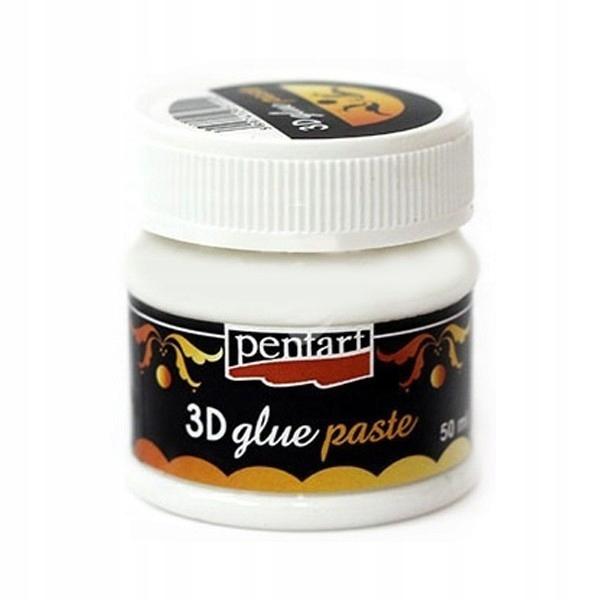 Klej 3D ozdobny Pentart pasta 50 ml decoupage