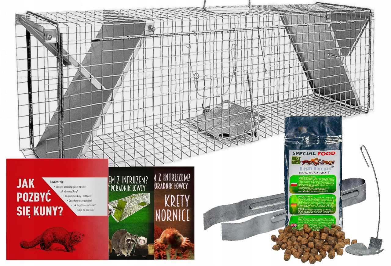 TRAP HEDGE TRAP ДЛЯ MARES WEAPS CATS 102x17x20