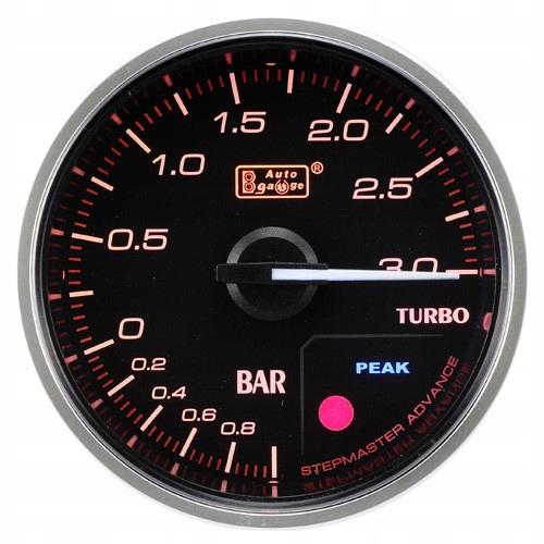 авто gauge индикатор boost 52mm fmic