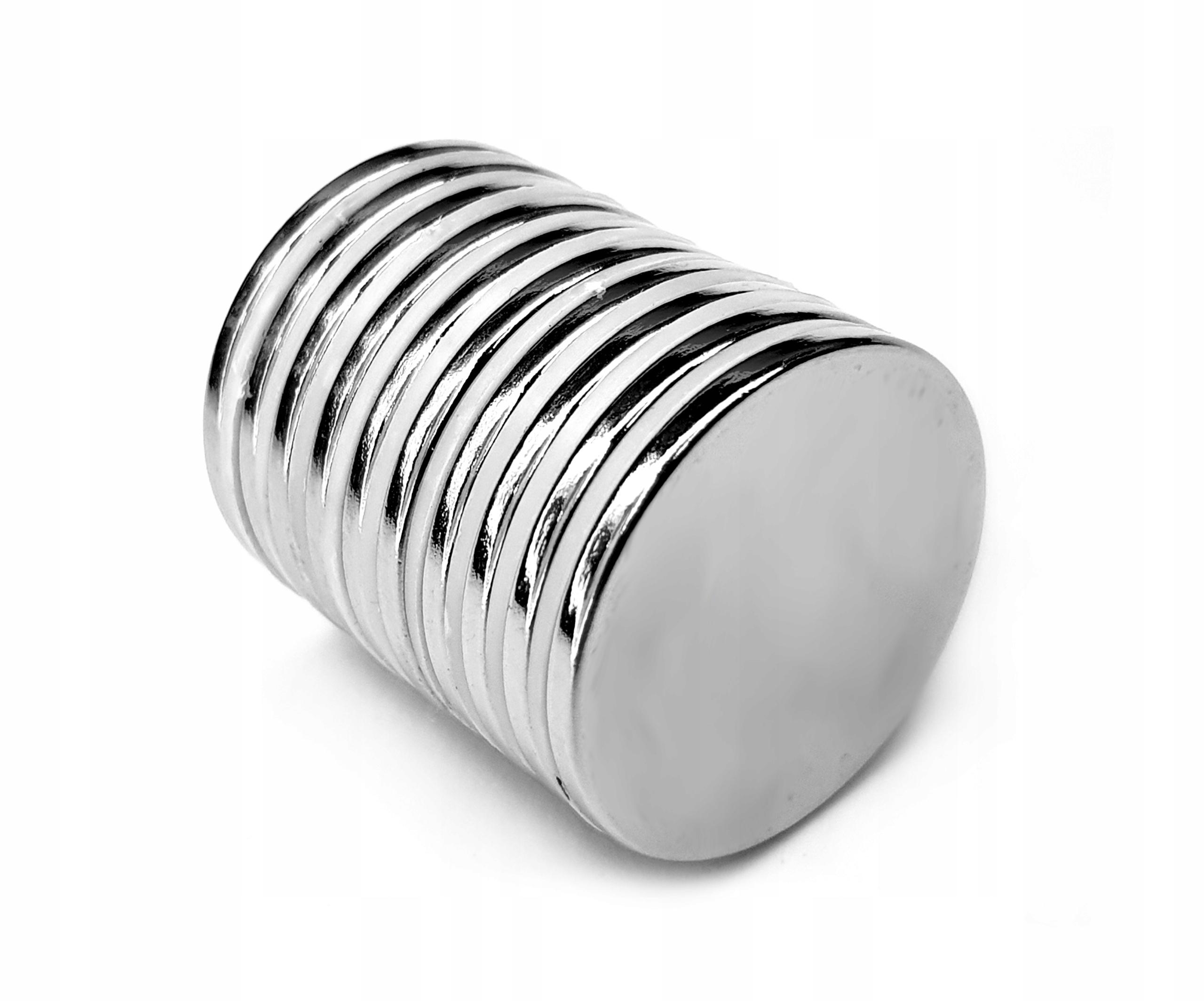 Neodymové magnety neodymové magnety 10x1 mm 10ks.