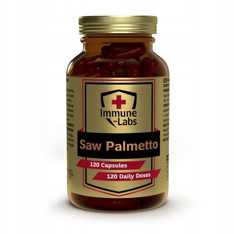 Immune-Labs Saw Palmetto 120k Palma Sabałowa 450mg