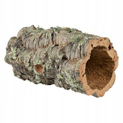 Trixie пробковая трубка игрушка убежище туннель 14-19см