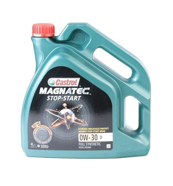 OLEJ CASTROL MAGNATEC STOP-START D 4L 0W-30