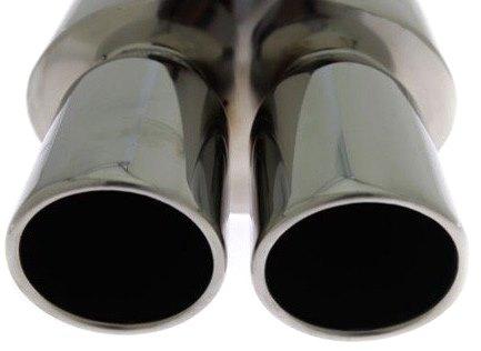 глушитель спортивный выдох двойной 2x90mm turboworks