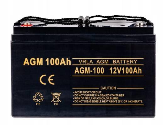 Гелевый аккумулятор для подвесного двигателя 100 Ач