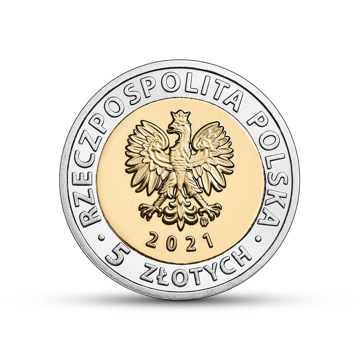 5 PLN ЗАМОК КНЯЗЕЙ В ВАЙБЖИЧЕ 2021 5 монет + 5 папок