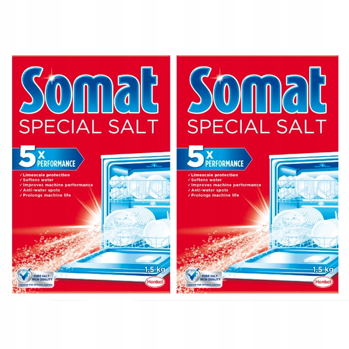 Somat Соль для Посудомоечной машины 2х1,5кг