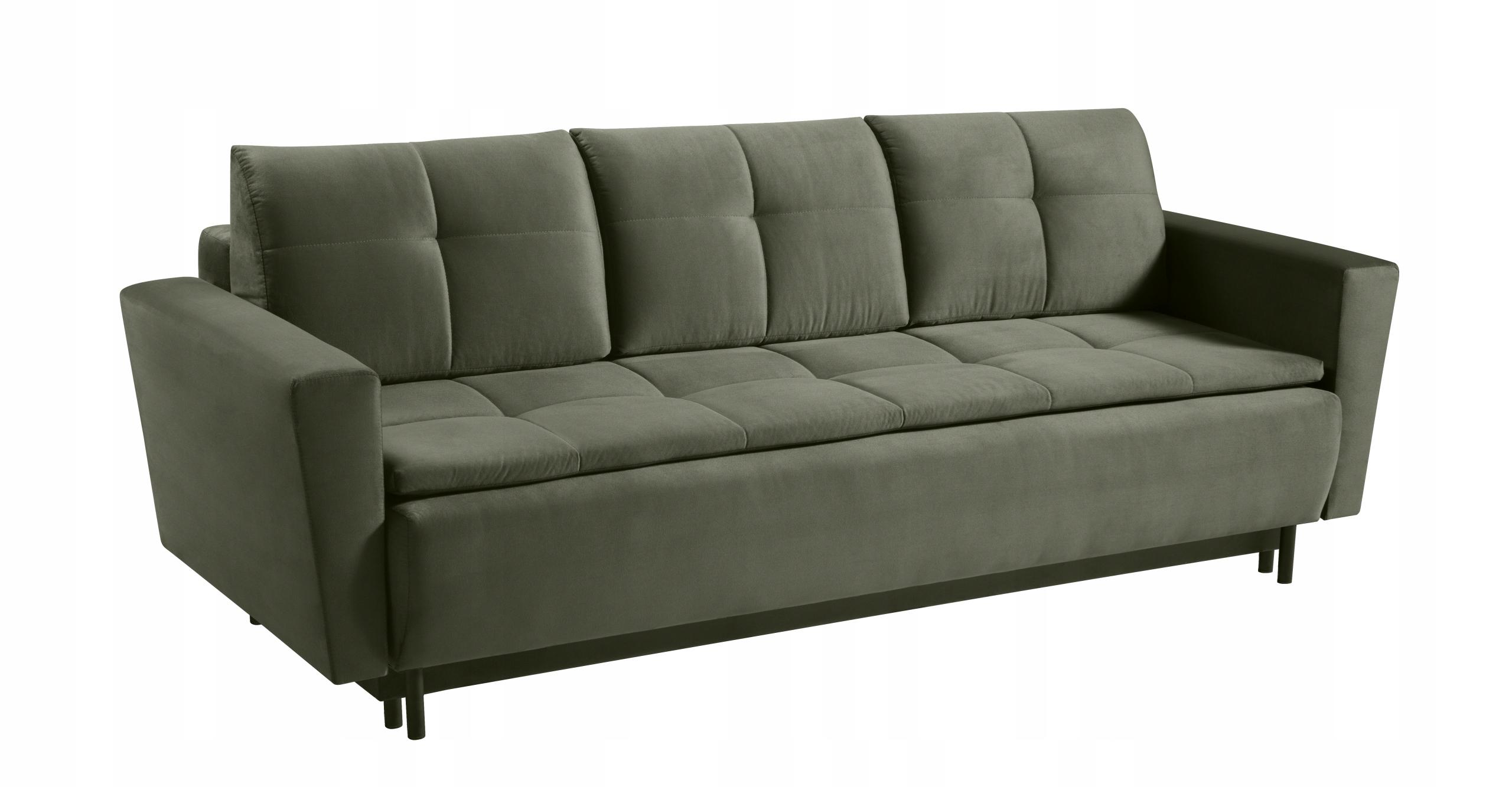 Großes Sofa SARA ausklappbares Schlafsofa - Farben Dreisitzergröße