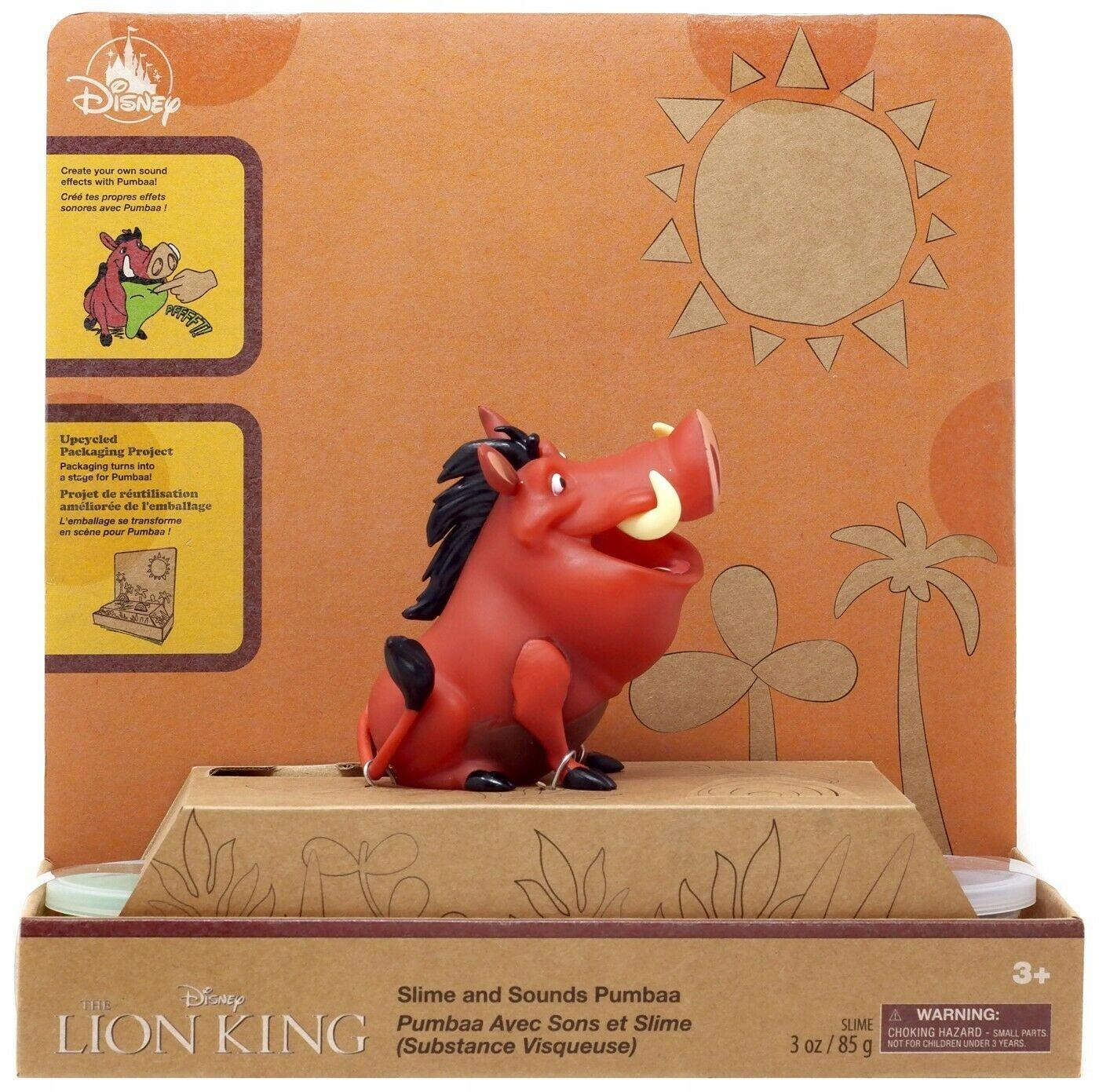 Zvuk Lion King Disney Pumba Slime Worms znie nepretržite