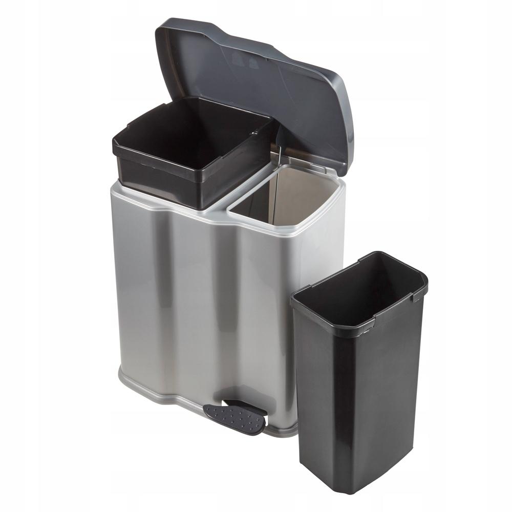 Keeeper двойной корзина для мусора педаль 7+15L Гуннар