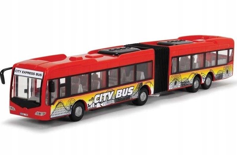 Kĺbový autobus DICKIE 46 cm City Express
