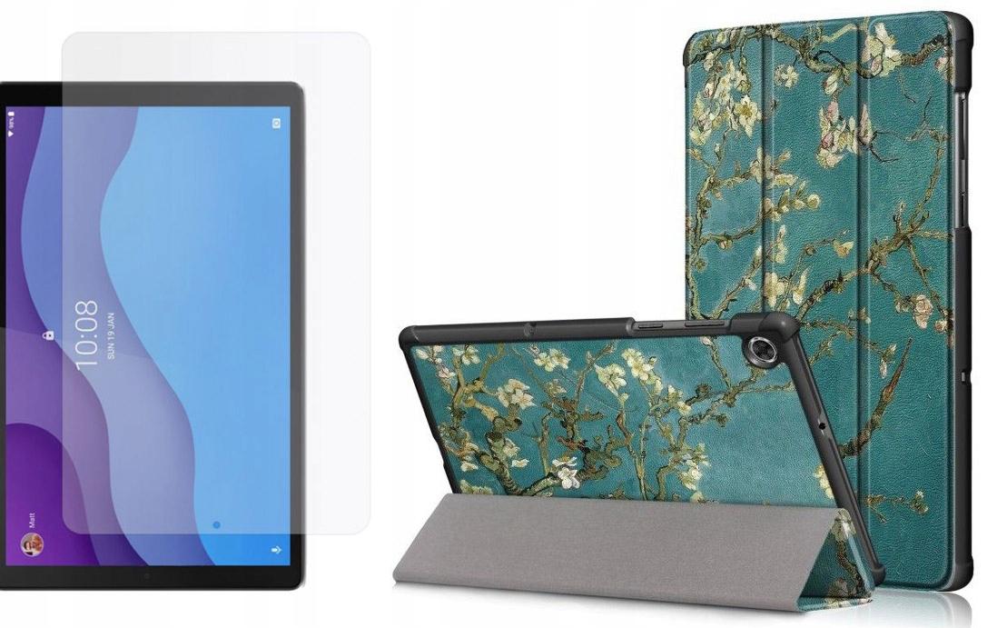 Etui do Lenovo Tab M10 2nd gen 10.1 Sakura + Szkło