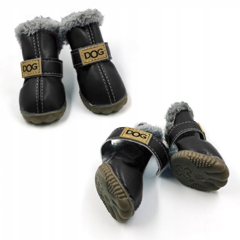 зимние сапоги для собак Нескользящие сапоги для собак