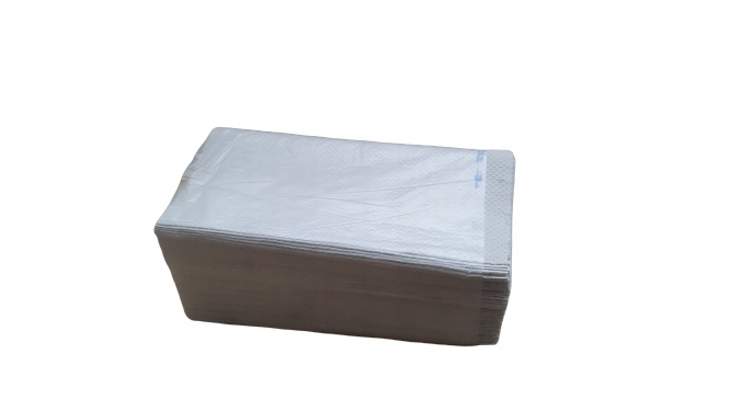 Ręczniki papierowe ZZ 23x25 białe 1W/ EKO