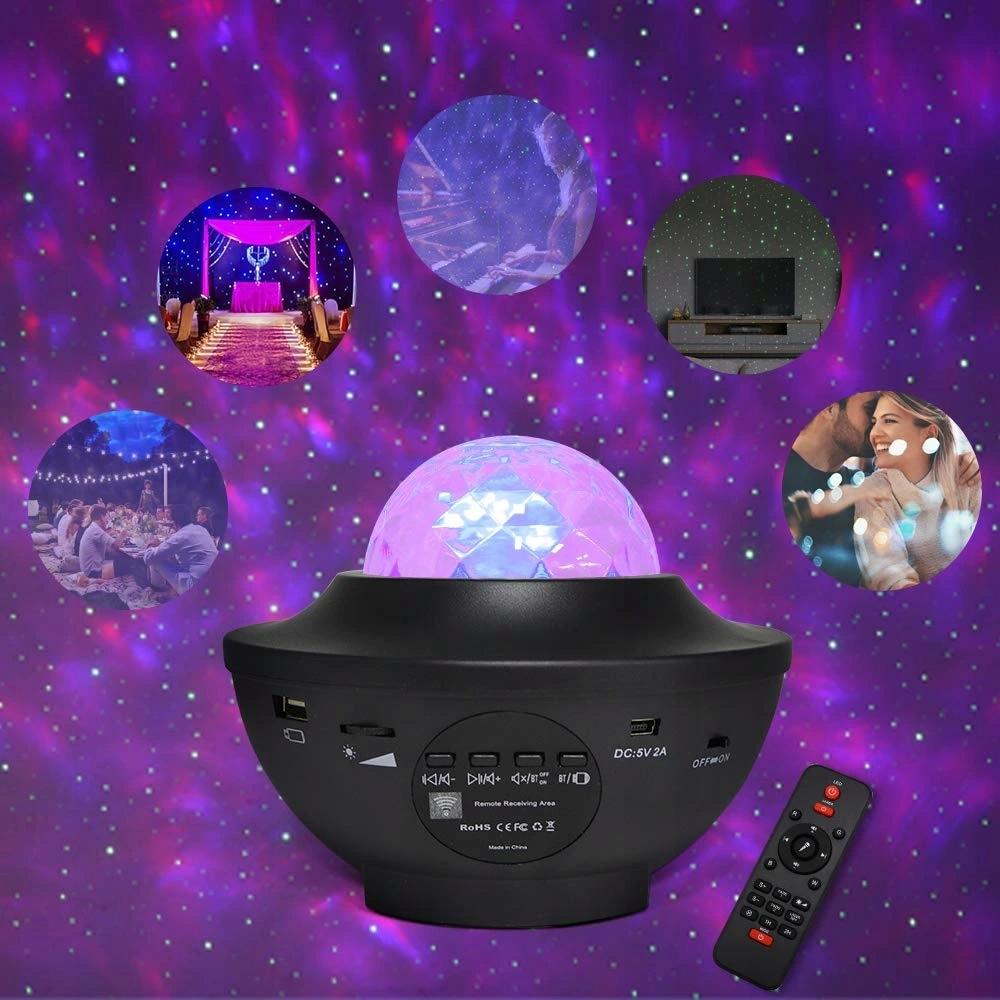 Projektor Gwiazd Galaktyki Morza Oceanu Fal Nieba 9894765539 - Allegro.pl