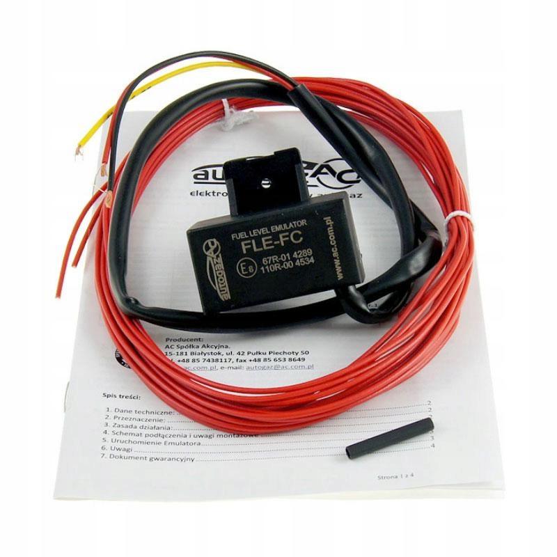 ac stag fle-fc эмулятор показания уровня топлива
