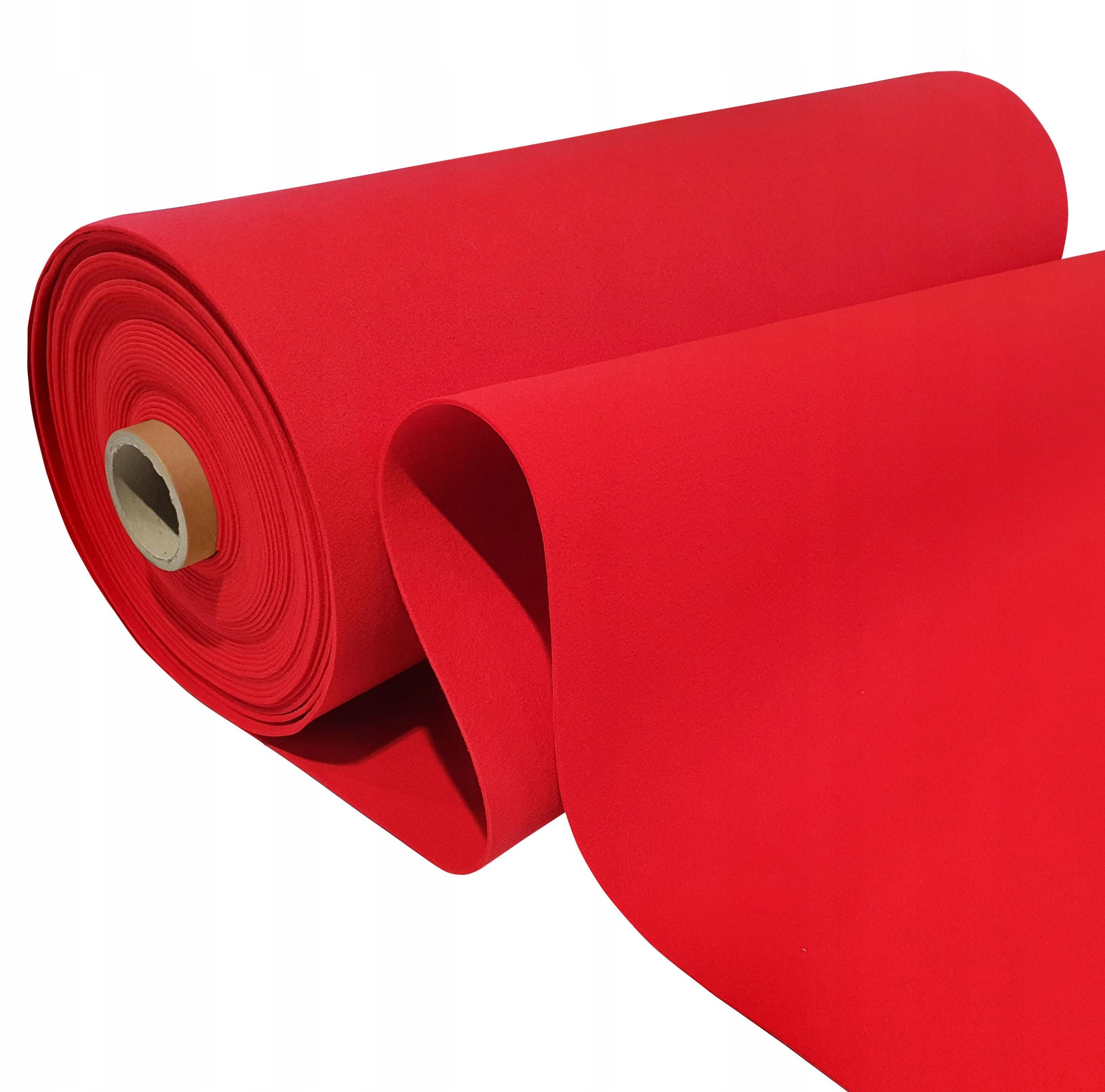 толстый декоративный FELC 4мм 100см красный