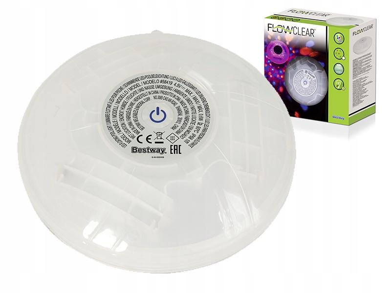 BESTWAY 58419 Светодиодный светильник для бассейна COLORS