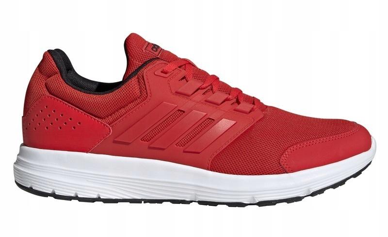 buty adidas czerwone damskie-siateczka