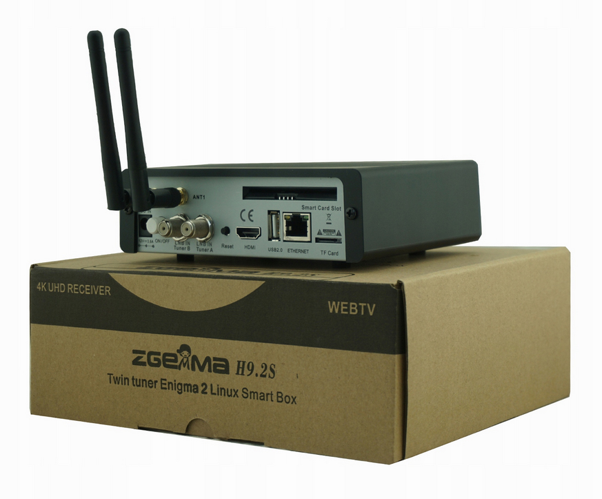 Zgemma H9.2S UHD 4K KODI ENIGMA2 NC+CCcam Netflix