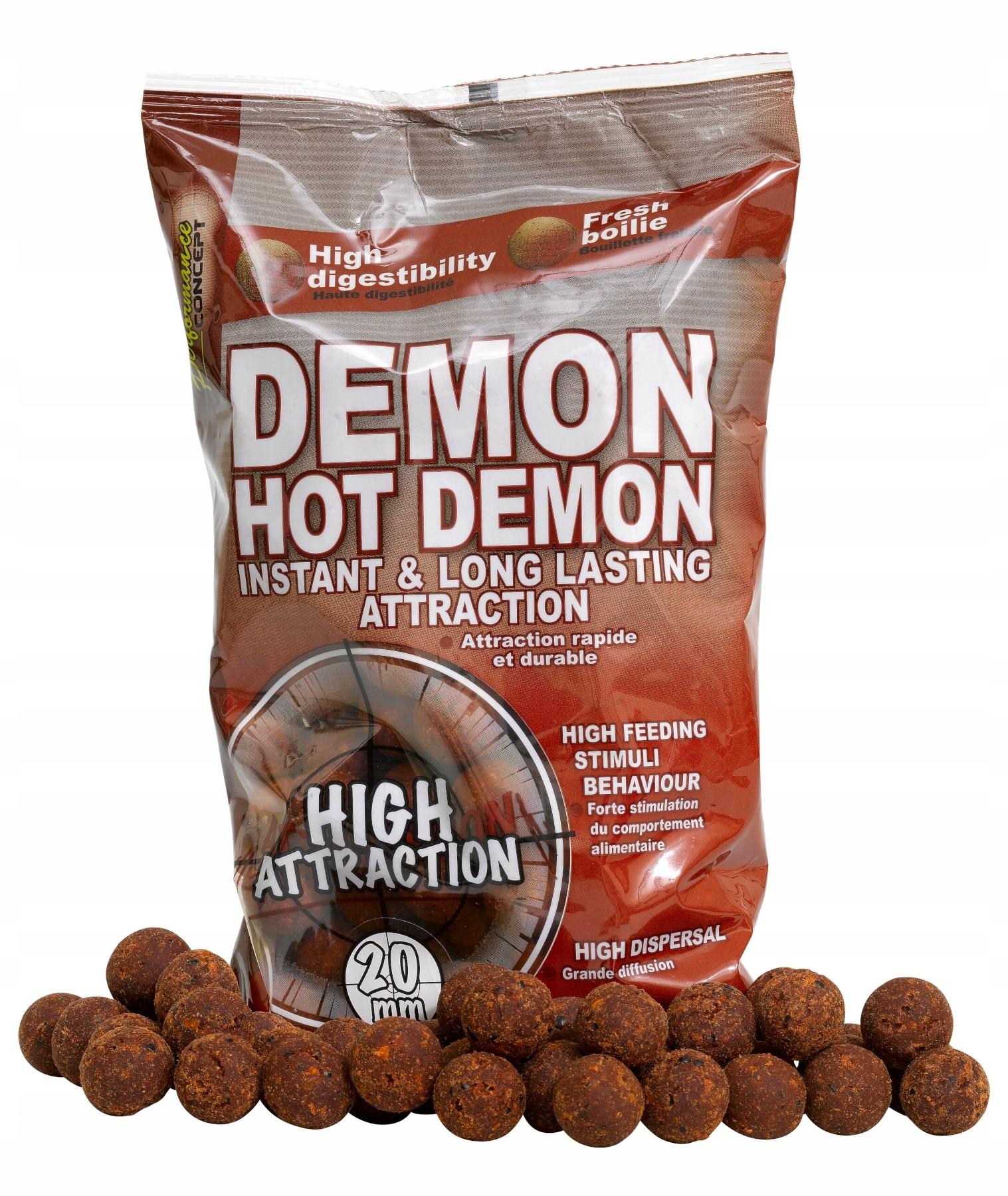Starbaits Performance Concept Hot Demon Pop Tops 14mm