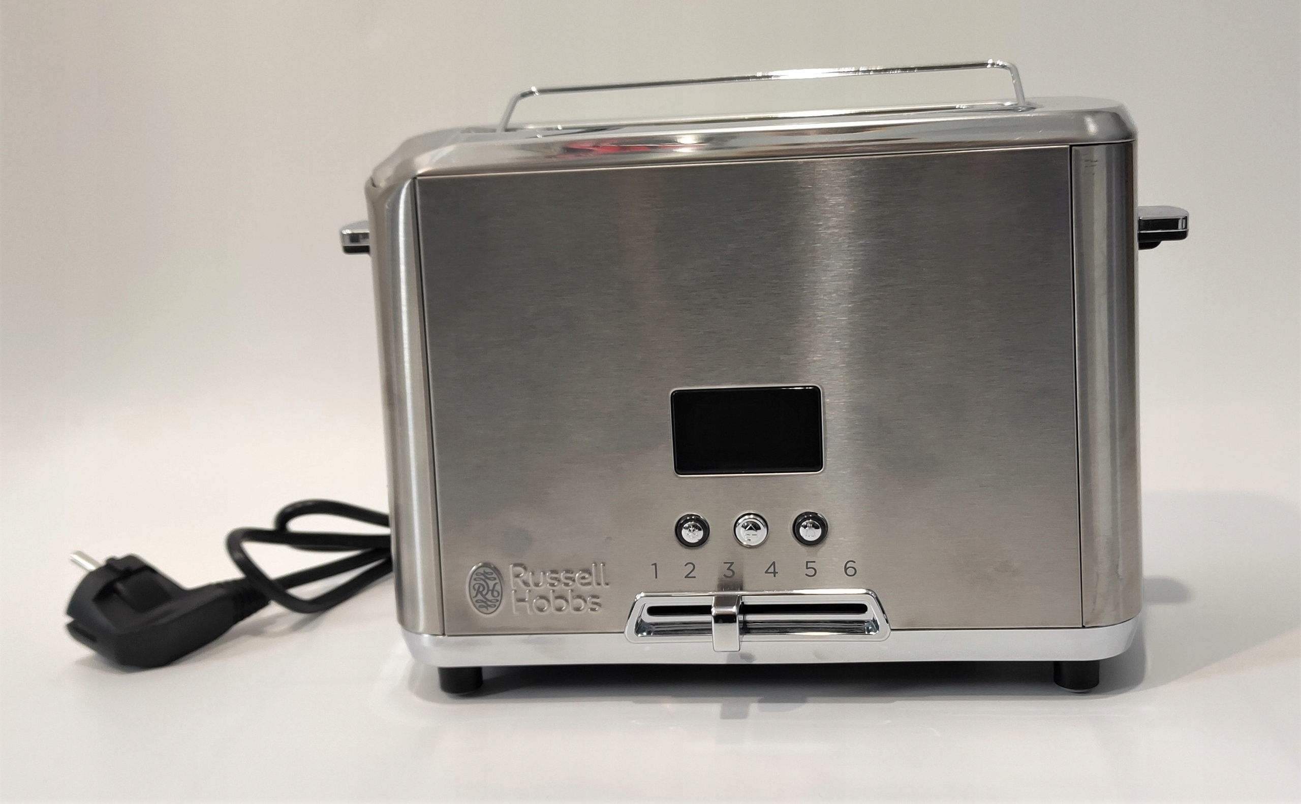 Toster Russell Hobbs 24200-56 srebrny/szary 820 W